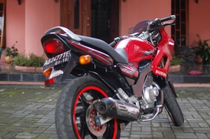 Suzuki Thunder 125 Modifications